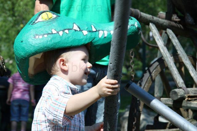Krokodíl v akcii - bolo tam veľa atrakcii pre deti, my sme si vybrali túto